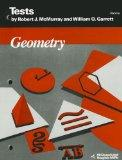 Geometry: Tests - Blackline