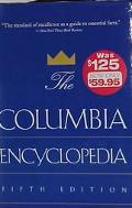 Columbia Encyclopedia - Columbia University Press - Hardcover - 5th ed