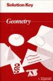 Geometry: Solution Key