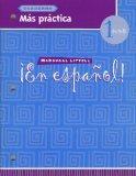 McDougal Littell ?En Espa?ol!: Mas practica Cuaderno Level 1 (Spanish Edition)