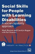 Social Skills for People with Learning Disabilities - Mark Burton - Paperback