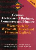 Routledge German Dictionary of Business, Commerce and Finance German-English/English-German