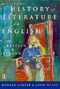 Routledge History of Literature in English Britain and Ireland