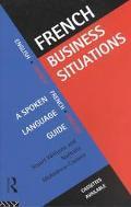 French Business Situations A Spoken Language Guide