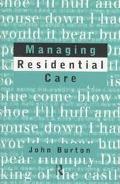 Managing Residential Care