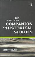 Routledge Companion to Historical Studies Alan Munslow