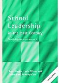 School Leadership In The 21st Century Developing A Strategic Approach