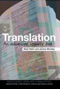 Translation An Advanced Resource Book