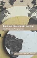 Doctoral Education In Nursing International Perspectives