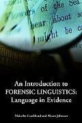 Introducing Forensic Linguistics