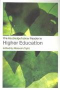 Routledgefalmer Reader in Higher Education