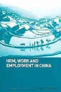 Hrm, Work, And Employment In China