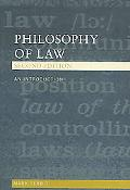 Philosophy Of Law An Introduction