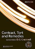 Contract, Tort and Remedies 2007-2008