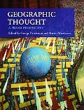 Geographic Thought: A Praxis Perspective