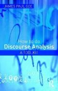 How to do Discourse Analysis: A Toolkit