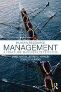 Human Resource Management : A Frontline Managers Perspective