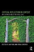 Using Critical Reflection in Health and Social Care