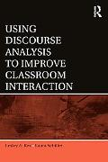 Using Discourse Analysis to Improve Classroom Interaction