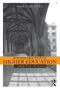 Business Practices in Higher Education : A Guide for Today's Administrators