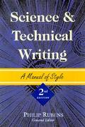 Science and Technical Writing A Manual of Style