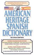 American Heritage Spanish Dictionary Spanish/English English/Spanish