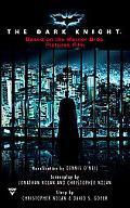 Dark Knight Movie Tie In