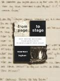 From Page to Stage How Theatre Designers Make Connections Between Scripts and Images