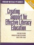 Creating Support for Effective Literacy Education Workshop Materials and Handouts