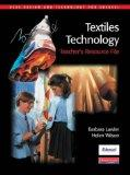 GCSE Design & Technology for Edexcel: Textiles Technology Teacher's Resource File (GCSE Desi...