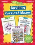 Ready-To-Go Reproducibles Spelling Puzzles & Mazes