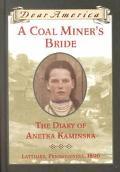 Coal Miner's Bride The Diary of Anetka Kaminska