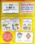 Teaching Tunes Audiotape and Mini-Books Set Basic Concepts