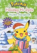 Pokemon Holiday Hi-Jynx Sticker Storybook