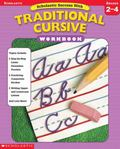 Scholastic Success With Traditional Cursive Workbook (Grades 2-4)