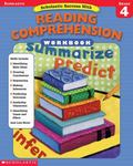 Scholastic Success With Reading Comprehension Workbook (Grade 4)