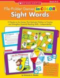 File-folder Games in Color Sight Words Grades D-2