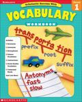 Scholastic Success With Vocabulary Grade 1