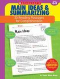 Main Ideas & Summarizing