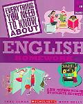 Everything You Need About English Homework