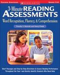 3-minute Reading Assessments Word Recognition, Fluency, & Comprehension Grades 5-8