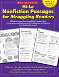 Hi-Lo Nonfiction Passages for Struggling Readers 80 High-interest/low-readability Passages W...