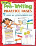 Bilingual Pre-Writing Practice Pages 40 Irresistible Picture Pages That Help Children Develo...