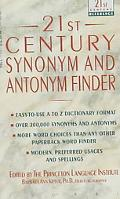 Twenty-First Century Synonym and Antonym Finder