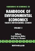 Handbook of Environmental Economics Valuing Environmental Changes