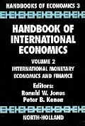 Handbook of International Economics International Monetary Economics and Finance