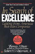 In Search of Excellence Lessons from America's Best-Run Companies