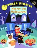 Hooray for Halloween Glow Sticker Stories
