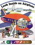 Look inside an Airplane - Patrizia Malfatti - Hardcover
