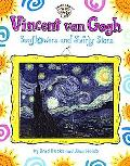 Vincent Van Gogh Sunflowers and Swirly Stars